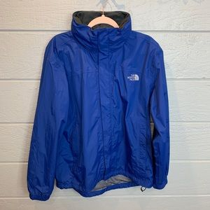 The North Face Blue Hyvent Soft Shell Jacket